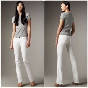 DL1961 Slim Boot Cut Jeans 30 Inseam White BootCut